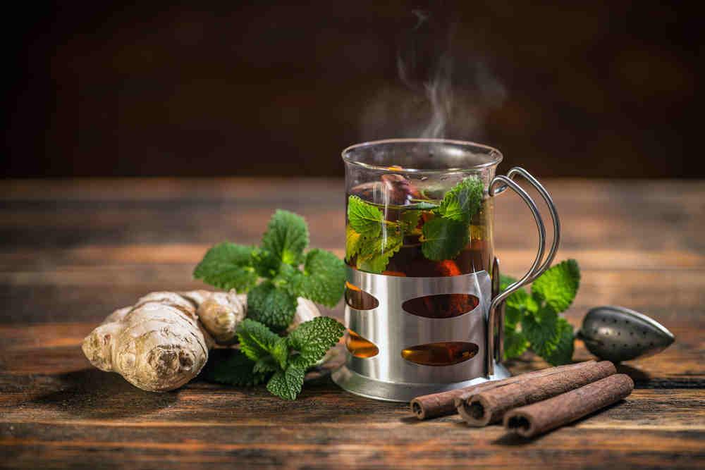 herbal-tea-in-tea-press
